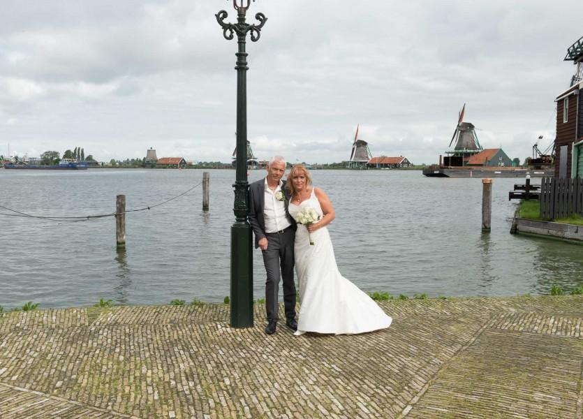 bruidsreportage zaanse schans bruidfotografie huwelijksreportage trouwen 2013Johanna en Marcel800 0464 bewerkt
