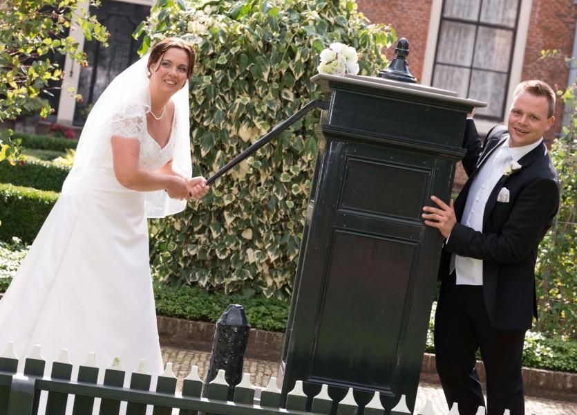bruidsreportage in Hoorn, 008