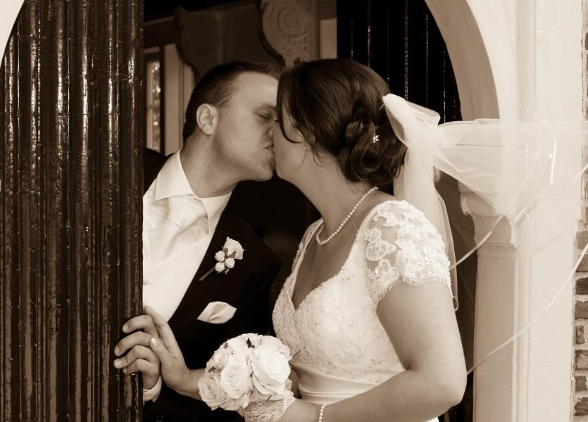 bruidsreportage in Hoorn, 009