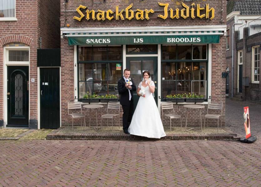 bruidsreportage in Hoorn, 014