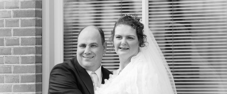 Bruidspaar Astrid en Ferdi uit Hoorn blij met fotoreportage!