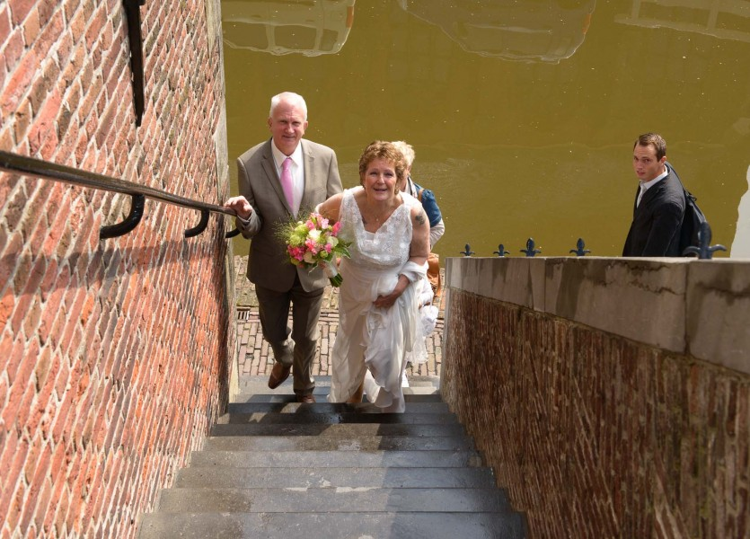 bruiloft in De Rijp, bruidsreportage 004