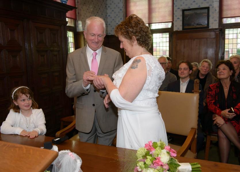 bruiloft in De Rijp, bruidsreportage 007
