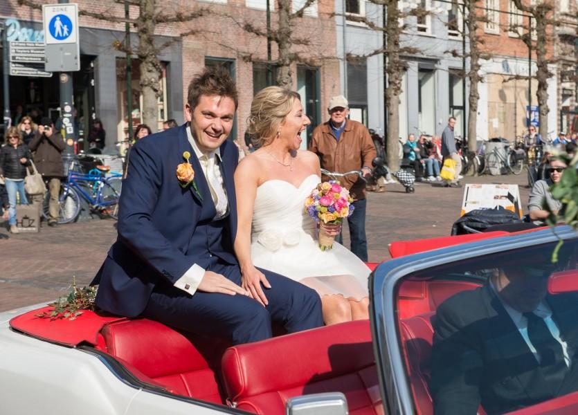 bruidsreportage|haarlem|bruidfotografie|huwelijksreportage|marktplein|hotel stempels 2014Femke en BartDSC 0586