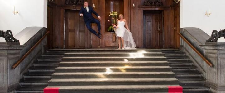 Bruidsreportage in Haarlem|Femke en Bart zijn getrouwd