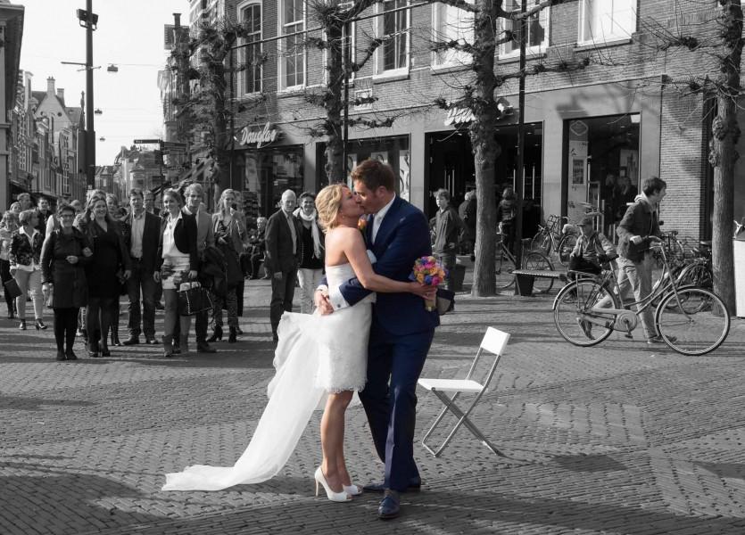 bruidsreportage|haarlem|bruidfotografie|huwelijksreportage|marktplein|hotel stempels 2014Femke en BartDSC 0904 bewerkt