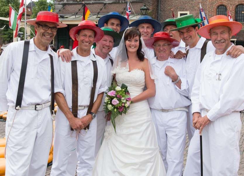 bruidsreportage Alkmaar trouwreportage trouwfoto bruidspaar 2014Däphny & KlaasDSC 4089