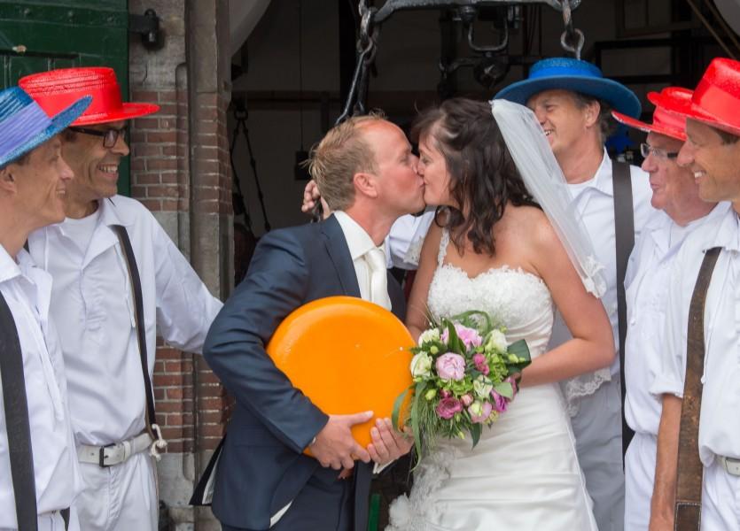 bruidsreportage Alkmaar trouwreportage trouwfoto bruidspaar 2014Däphny & KlaasDSC 4102