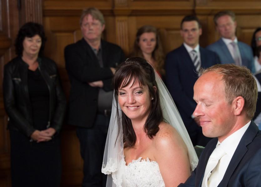 bruidsreportage Alkmaar trouwreportage trouwfoto bruidspaar 2014Däphny & KlaasDSC 4415