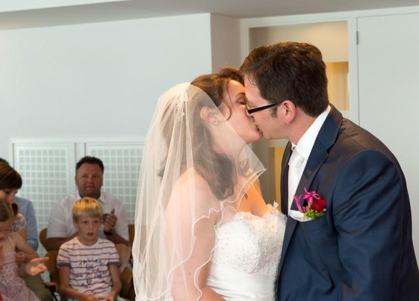 bruidsreportage aalsmeer trouwreportage trouwfoto bruidspaar 2014Joyce & ChrisDSC 5644