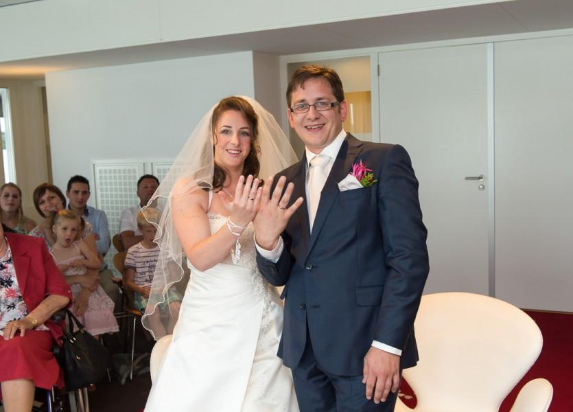 bruidsreportage aalsmeer trouwreportage trouwfoto bruidspaar 2014Joyce & ChrisDSC 5670