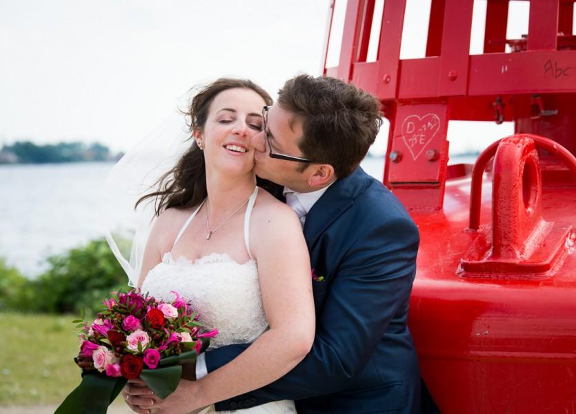 bruidsreportage aalsmeer trouwreportage trouwfoto bruidspaar 2014Joyce & ChrisDSC 5872