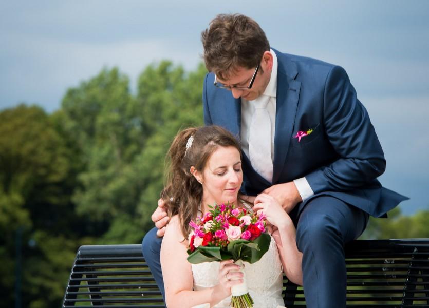bruidsreportage aalsmeer trouwreportage trouwfoto bruidspaar 2014Joyce & ChrisDSC 5970